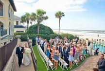 Lodge Weddings: Oceanfront venue / Oceanfront Weddings at The Lodge & Club in Ponte Vedra Beach, Florida. www.pontevedra.com / by Ponte Vedra Beach Resorts