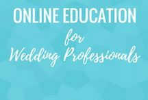 Online Education for Wedding Professionals
