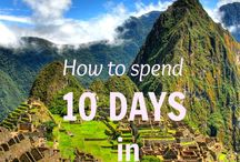 Travel Planning Peru / Tips to plan your next vacation in Peru!