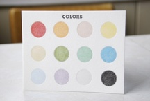 Color Palettes / by Mary Swenson