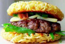 Burger / Disini ada beragam kreasi olahan makanan burger yang enak dan cocok untuk jualan.
