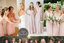 Wedding bridesmaids / Bridesmaid dresses