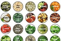 Nutritional Info / Nutritional values and health benefits of foods, vegetarian & vegan tips