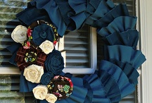 Wreaths / Decorative Wreaths / by Karen Walker