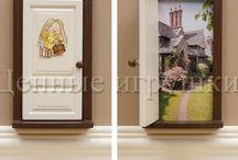 Fairy Door - волшебные двери в сказочную страну / Дверки для фей и сказочных существ, порталы в другие миры, и между мирные проходы. Fairy Door. Сказочные двери.