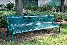 Memorial Benches / We at The Park Catalog particularly enjoy helping people find the right memorial bench to commemorate an event or the passing of a loved one.  Here are a few memorial benches we have sold recently.