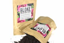 Bloke Body Scrub / Bloke Body Scrub is an organic scrub that will improve your skin in a natural cleansing way. They feature a coffee body scrub, a green tea body scrub as well as a sea salt body scrub. #bodyscrub #greenteascrub #coffeebodyscrub #coffeescrub
