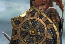 Oolywin Giimri / Underworld Larp Character Board