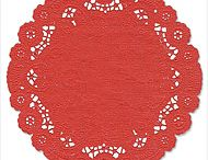 Paper Doilies for Parties or Arts and Crafts / Colored paper, foil, and holiday-themed doilies for creative use.