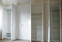 Fitted Wardrobes / Inspiration for our custom-built, fitted wardrobes