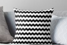 Pillows / A collection of beautiful accent decorative throw and floor pillows.