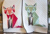 Free fox quilt pattern.