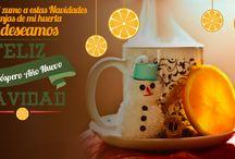 ¡Feliz Navidad! / Desde Naranjasdemihuerta.com queremos desearos feliz Navidad a todos y próspero año 2015. Disfrutad de estas fechas en compañía de amigos y familiares. www.naranjasdemihuerta.com