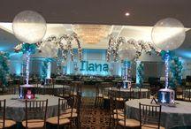 Bar and Bat Mitzvah Event Ideas / Theme party decor