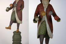 Ed Pribyl carvings