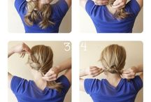 Hair Tutorials / How To Hair / by Kelsey Leigh, LMA