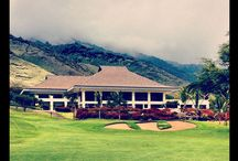 Kahili Golf Course / 18 Hole Golf Course Designed by Robert Nelson.  The clubhouse offers beautiful rooms for private events, Kahili Restaurant and ProShop.  Ceremonies on the grounds overlooking the course, Haleakala, and the north and south shores of Maui.