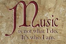 Music / Music is my every breath. <3