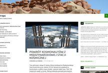 Nasze wydawnictwa internetowe / Studio Projektów Internetowych zajmuje się również działalnością wydawniczą w internecie - tablica przedstawia serwisy redagowane przez nasze studio.