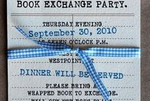 Book Club & Book Exchange Party / by Felt So Cute