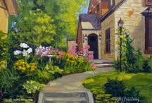 Plein Air Fest Painters / Our Adirondack Plein Air Festival brings painters far and wide. Here we share works by artists who are participating to give you a taste of what's to come.