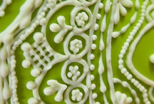Piping, beading & applique ideas / by Sugar Gourmande Lou