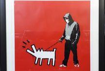 L'art urbain sous le marteau ! / Présents depuis plusieurs années déjà dans le milieu des enchères, le Street Art occupe une place de plus en plus récurrente dans les ventes d'art contemporain ou spécialisées.  Retours en images sur quelques adjudications de l'année 2017, des incontournables Banksy ou Jonone aux artistes à découvrir.