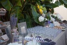 Lavender theme Wedding in Rhodes / Destination Wedding in Rhodes Greece, Ceremony in Medieval Town, Reception in Kallithea Springs