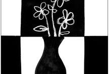 Art Positive Negative Drawing