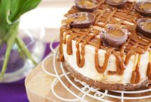Easter cheesecakes