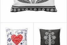 pillows art
