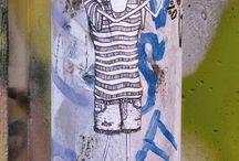 streetart / my girls found in the streets