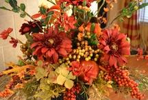 Floral & Greenery Arrangements / Arranging & designing ,for indoor  outdoors / by Carolyn Lenardon
