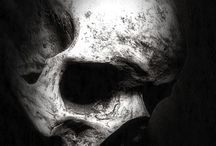 Skull tattoo project / Realistic black&grey skull tattoo project