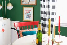 Style Decor: Whimsical and Colorful / Whimsical decor, Whimsical interiors, colorful interiors, colorful rooms, whimsical rooms, Wes Anderson inspired interiors, Pink living spaces, whimsical colorful living spaces, decorating with color, vibrant interiors