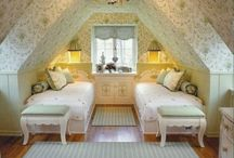 attic rooms / by Ruth Tyree