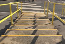 Safety Anti slip edging for schools and companies