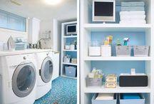 ORGANIZED SPACES : Laundry / by Heidi Leonard - OperationOrganizationbyHeidi