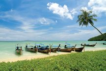 Outrigger Phi Phi Island Resort & Spa, Thailand / The Outrigger Phi Phi is a popular resort choice for families and romantic couples wishing to explore the natural beauty of this stunning island and its surrounding National Marine Park.