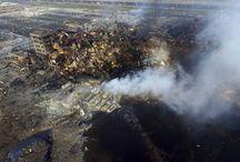 World news from destruction..
