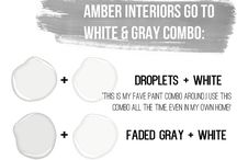 Benjamin Moore whites an touch of grey