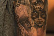 Lány Tetoválások