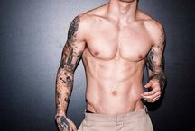 Tattooed hot guys