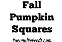 Perfect Fall Meals