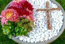 výzdoba hrobov