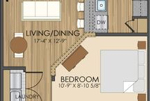Floor plans for minor dwelling