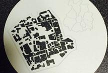 City Map / Sottopiatti e sottobicchieri
