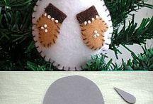 muñeco nieve pars arbol