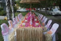 Luau Themed Party Ideas / Ideas and inspiration for your next luau themed party