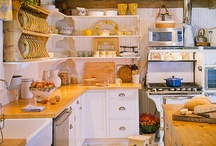 kitchens inspiration and ideas / Figuring out how to make my kitchen fit me better and do it relatively cheaply. / by Jenna Zimmerman